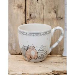 Katzen-Tasse
