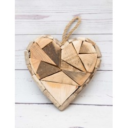 Herz Holzstücke