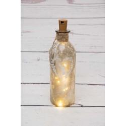 Hirschkopf-LED-Flasche