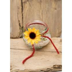 Teelicht Sonnenblume