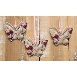 Schmetterling Rosenmuster