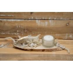Goldfisch Teelicht