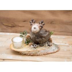 Hirsch-Teelicht